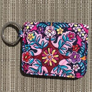 Vera Bradley Cotton Campus Double ID Case Wallet